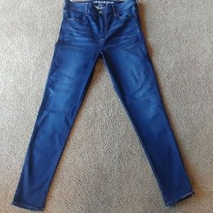American Eagle super super stretch X size 16